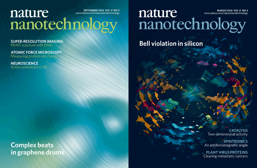 Postdocs' previous research on Nature Nanotechnology covers